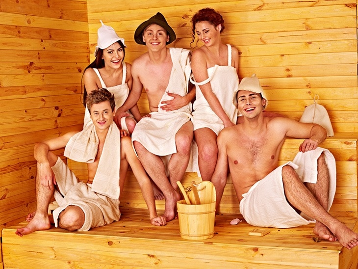 saunas expand your social world