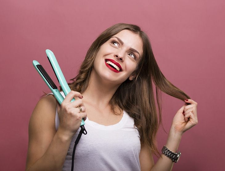 why use a flat iron