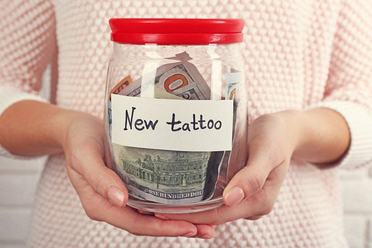 invest with extra cash for first tattoo