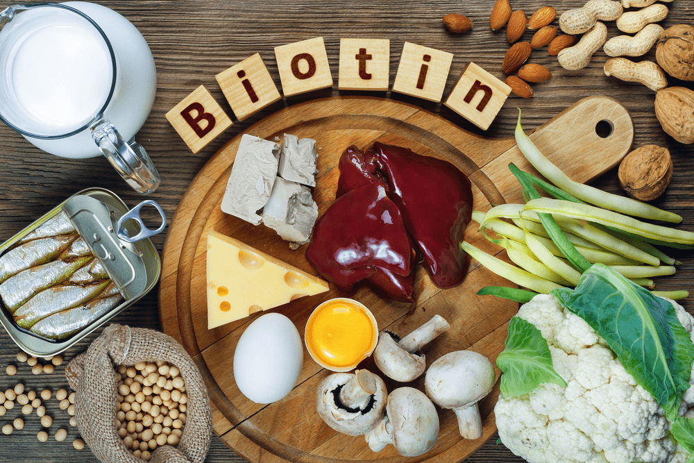 Foods rich in Biotin (vitamin B7)